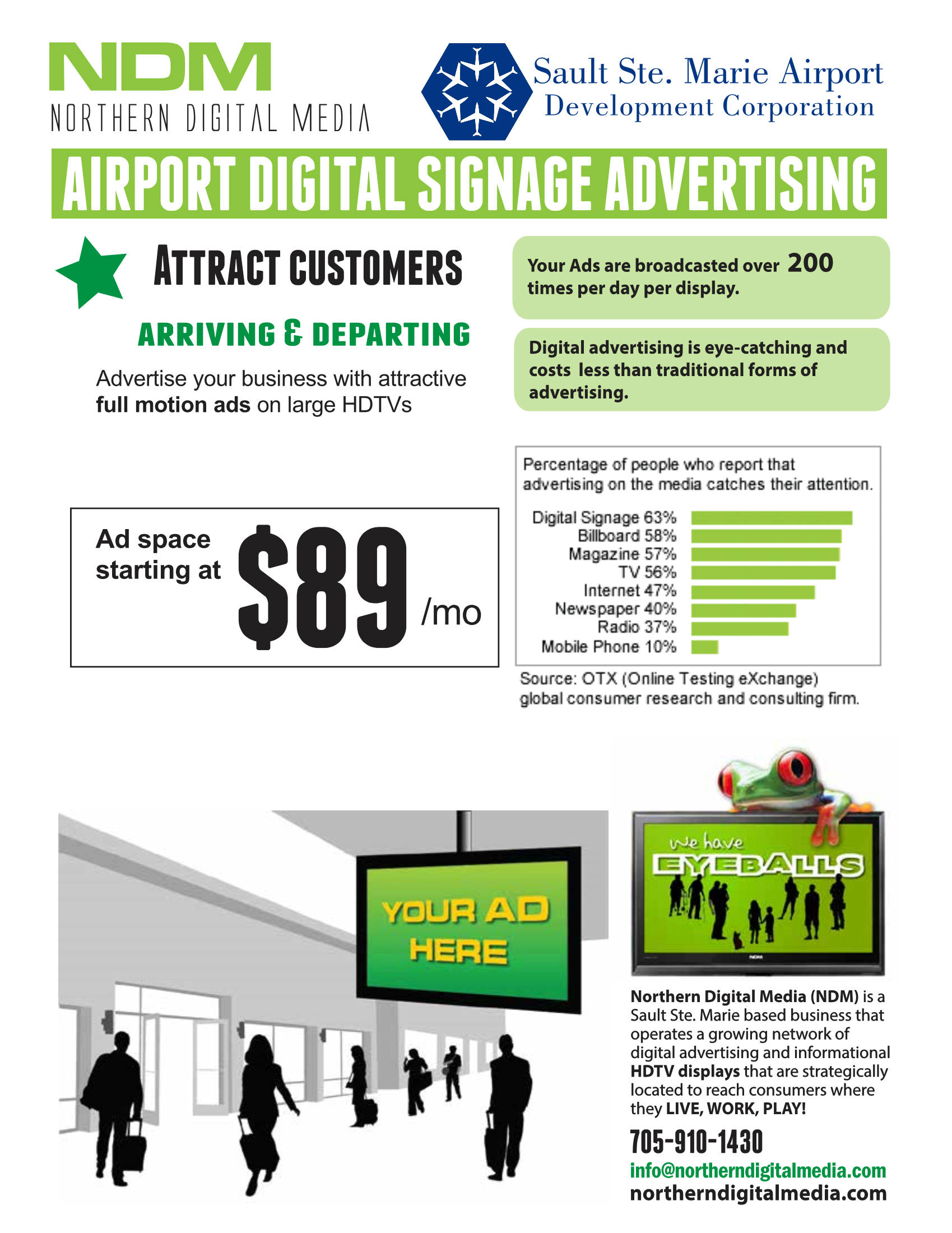 Digital Signage Graphic
