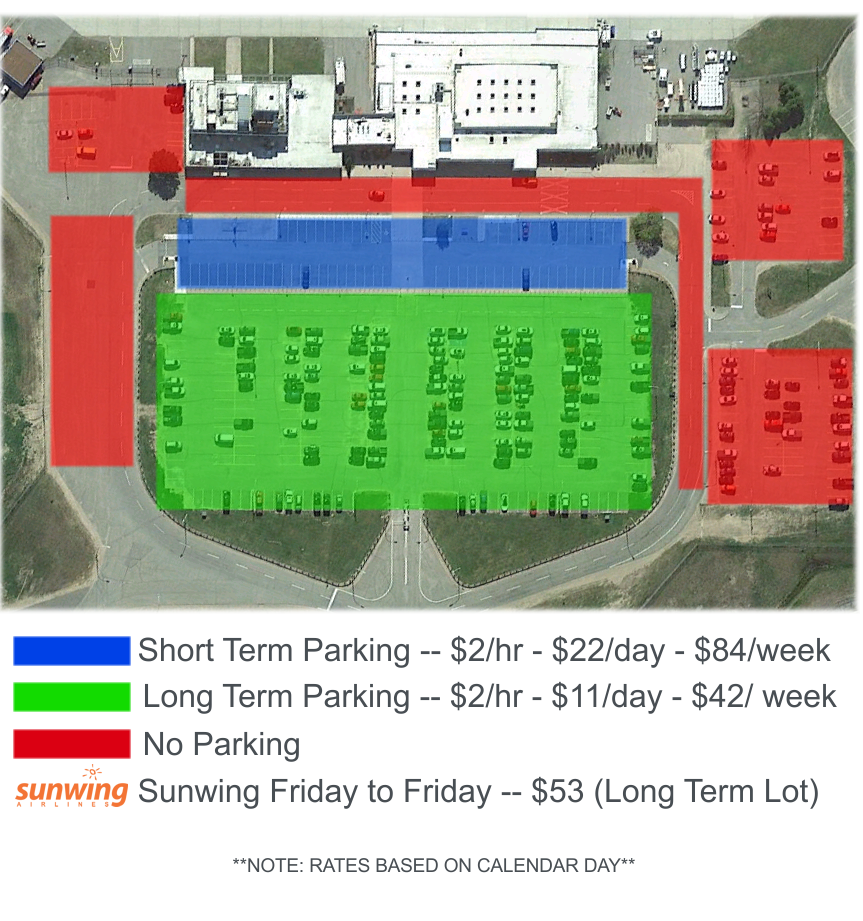 Parking map & prices